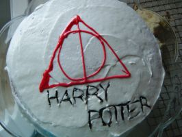 Harry Potter Cake by MindiieFR