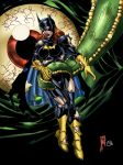 Tentacled 6: Batgirl by andrewr255