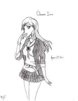 Bleach- Orihime by x-Infamous