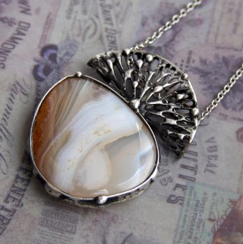Agate Forest Pendant by SashaSi