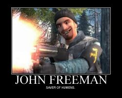 John Freeman - Saver of Humens by Router-Jax