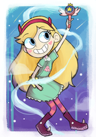 Star Butterfly!! by AppleRiddles