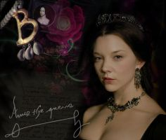Natalie Dormer as Anne Boleyn by Tanyshe4ka