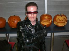 Cyclops With Cyclops Pumpkin by Nesgate
