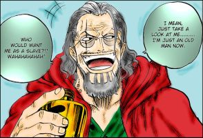 Silvers Rayleigh - One Piece by godassassin0068