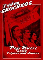 Pop PArty Poster by Laazar