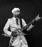 Colonel Sanders Rocking Out by DrDoughnut