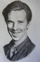 Benedict Cumberbatch #2 by MidnightRoseGarden