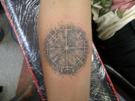 Viking compass by phoenixtattoos
