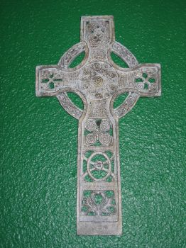 Iron Celtic Cross by lured2stock