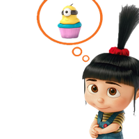 Despicable Me PNG [Agnes] by Costaria23
