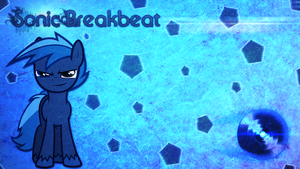 Sonic Breakbeat Wallpaper by FroyoShark