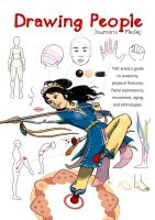 Drawing People tutorial book by Majnouna