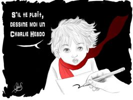 Je Suis Charlie by Luckytrefle
