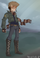 Character Concept: Pilot by StevieWunderz