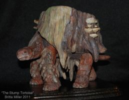 The Stump Tortoise, painted by BrittaM