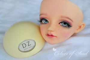 Face-Up Honey (Dollzone Yume mod.) by prettyinplastic