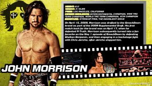 WWE John Morrison ID Wallpaper Widescreen by Timetravel6000v2
