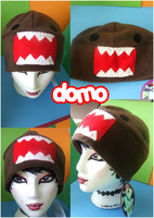 Domo Hat by Butterscotch-Llama