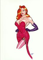 Jessica Rabbit by PandorasPride