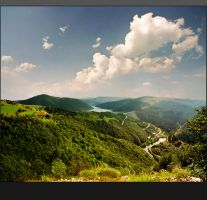 View of Zlatar lake by jup3nep