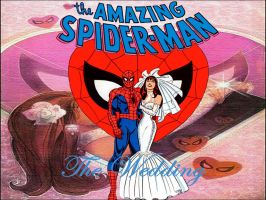 Spider-Man Wedding wp2 by SWFan1977