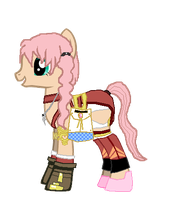 Serah the Pony by AerisHikari