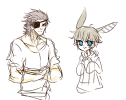 i look back at all my ocs and well wow by LittleSoyaBeanMilk