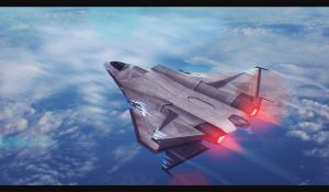 Starship ''Instructor'' 3D Commission by AdamKop