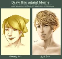 Draw this again meme - Cayne by ReneeViolet