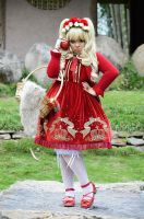 Red Ridding Hood I by sweetmariecherie