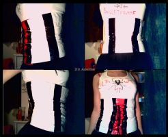 Ductape Corset V1 by xx-amberskies