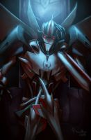 TF Prime - Starscream by TheMinttu