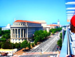 DC from Newseum by J-A-Y-E