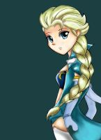 Frozen Elsa F by k3nn3thcute