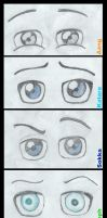 Avatar Eyes Sketch by Foofoopapachon