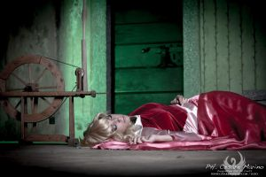 Fallen asleep by AleSelene