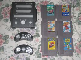 My RetroN3 and NES games by T95Master