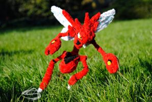 Scizor the Iron Mantis by Leo-tux