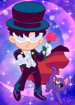 Tuxedo Mask and Luna by K-Bo. by kevinbolk