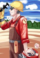 TF2 Engineer by seueneneye