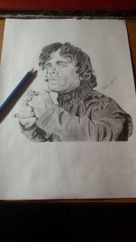 Portrait Tyrion Lannister by Marco-Calo