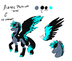 Aztec Platinum reference raverly guard by Captainhomo