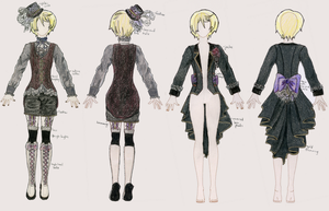 Demon Alois Costume Design by SweetPrinceCosplay
