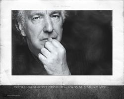 Alan Rickman - wallpaper 4-3 by transparentbird