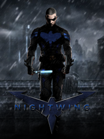 Nightwing - POSTER by MrSteiners