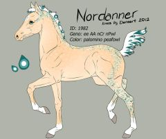Nordanner Foal 1982 - design by Ikiuni