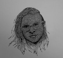 Speed Art - Skrillex by Bashir-Sultani