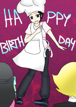Cooking With Diamond Happy Birthday by Purified-Justice