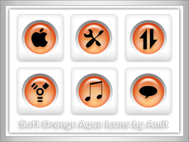 SoftOrangeAqua Icons by amitsaraf32